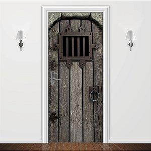 Adesivo para Porta Medieval