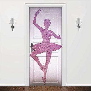 Adesivo para Porta Bailarina