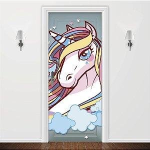 Adesivo para Porta Unicorn Princess