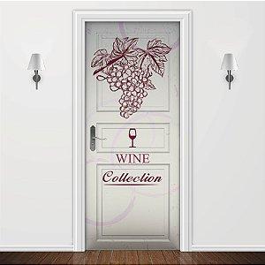 Adesivo para Porta Wine Collection II