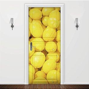 Adesivo para Porta Cozinha Limão Siciliano