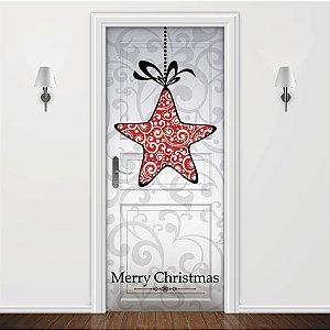 Adesivo para Porta Estrela do Natal