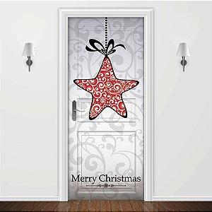 Adesivo para Porta Merry Christmas