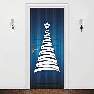 Adesivo para Porta Magia do Natal