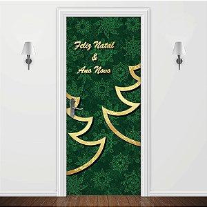 Adesivo para Porta Natal e Ano Novo