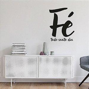 Adesivo Decorativo - Fé