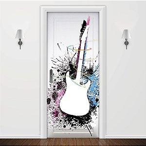Adesivo para Porta Guitarra