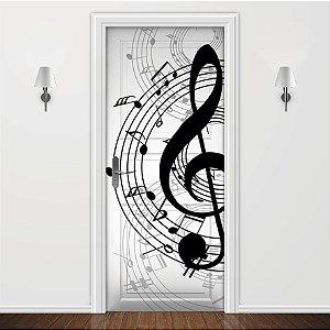 Adesivo para Porta Nota Musical