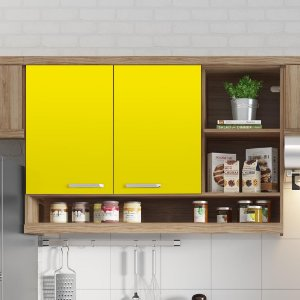 Adesivo Colorido Amarelo Claro