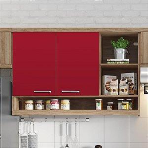 Adesivo Colorido Vermelho Radiante