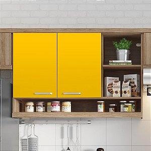 Adesivo Colorido Amarelo Médio