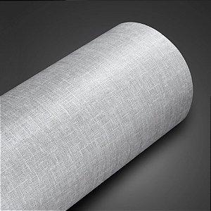 Adesivo com Textura Telado Brim Cinza