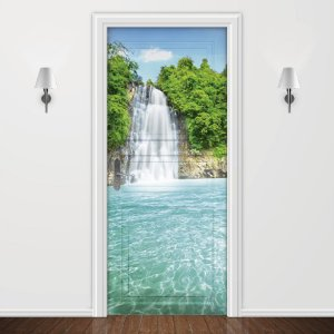 Adesivo para Porta Cachoeira