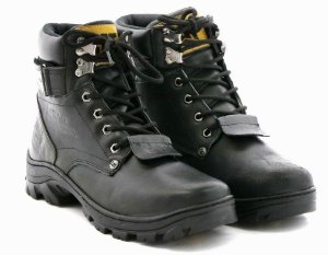 Coturno Caterpillar Adventure Latego Preto - Ref.300