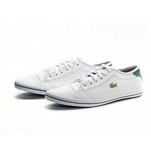 Sapatenis Lacoste Branco/Verde