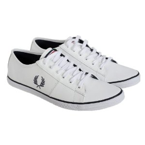 Tênis Masculino Casual Fred Perry Branco