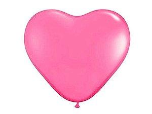 Balão Gigante Rosa - Coração