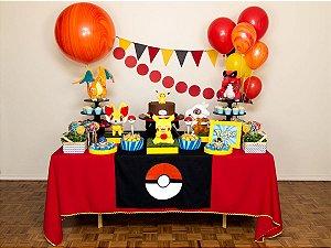 Festa Pokemon - Aluguel de Decoração