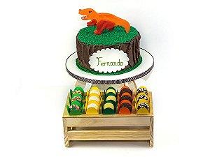 Bolo + Doces - Festa Dinossauro