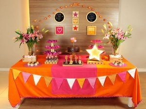 Festa Estrela - Aluguel de Decoração