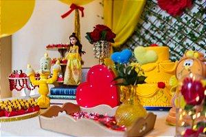 Festa Bela e a Fera - Aluguel de Decoração