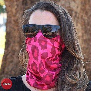 Bandana Onça Pink