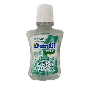 Antisséptico Bucal C/ Flúor 0% Álcool Menta/Hortelã 250ml Dentil