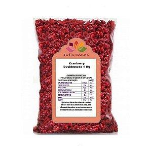 Cranberry Fruta Desidratada 1 Kg