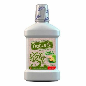 Enxaguante Bucal Natural Com Ingredientes Orgânicos 250ml