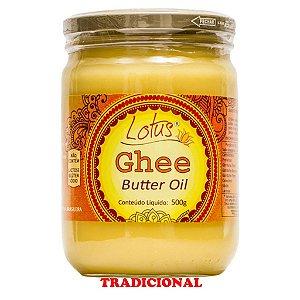Manteiga Ghee S/ Glúten S/ Lactose S/ Sal 500 Grs Lotus