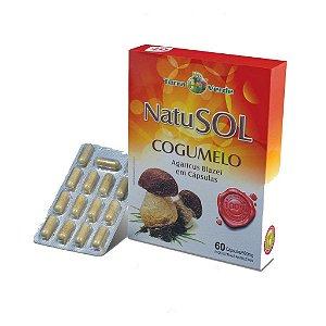 Natusol (cogumelo) 60 Cápsulas - 500 mg Terra Verde
