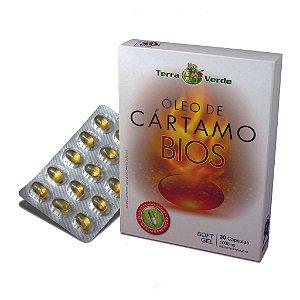 Óleo Cártamo Bios Terra Verde Sanibras 30 Softgel 1000 Mg