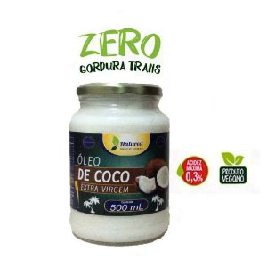 Óleo De Coco Extra Virgem 500 ml Natured