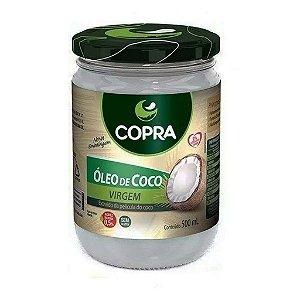 Óleo de Coco Virgem 500 ml Copra