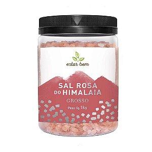 Sal Rosa Do Himalaia Gourmet Grosso Estar Bem 1 Kg
