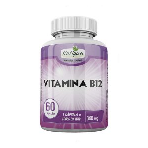 Vitamina B 12 -  60 Cáps 400 mg Katiguá