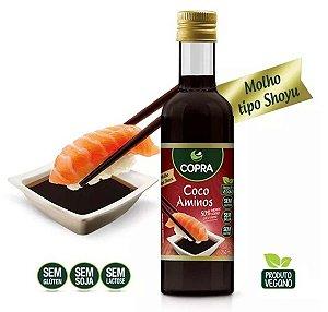 Coco Aminos 250ml Copra = Molho Shoyu - Super Sabor