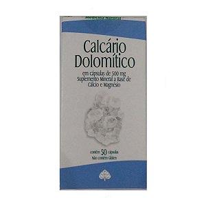 Calcário Dolomitico 50 Cáps 500 mg Medinal