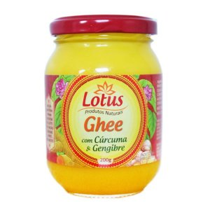 Manteiga Ghee Trad Clarificada Curcuma Gengibre 200 Grs