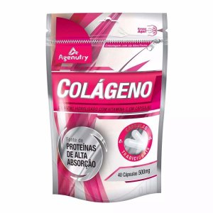 Colageno 40 Caps 500mg Agenutry