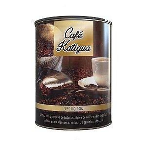 Emagrecedor Café Solúvel Com Erva 100g Katiguá