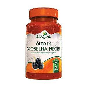 Óleo De Groselha Negra 60 Cps 1000 Mg Katigua