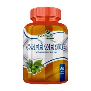 Café Verde 60 Cáps 500 mg Katiguá