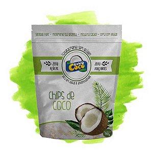 Chips de Coco Premium Zero Açúcar 70 grs Dinococo