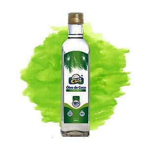 Óleo de Coco Extra Virgem Garrafa 500 ml Dinococo