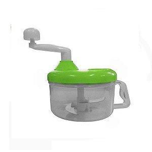 Processador De Alimentos Man Plast Lamina De Inox Verde