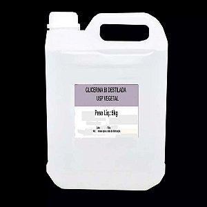 Glicerina Bi Destilada USP Vegetal 5 Lts (6650 grs) Bella Donna