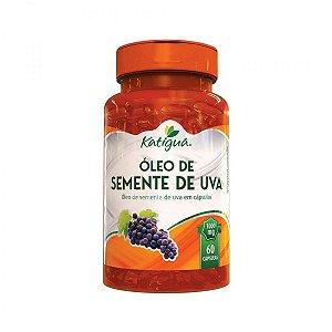 Óleo Semente de Uva 60 Cáps 1000 mg Katigua