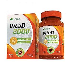 Vita D 2000 - 125 mg 120 mini Cáps Katiguá