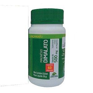 Magnésio Dimalato 60 Cáps 500 mg Medinal
